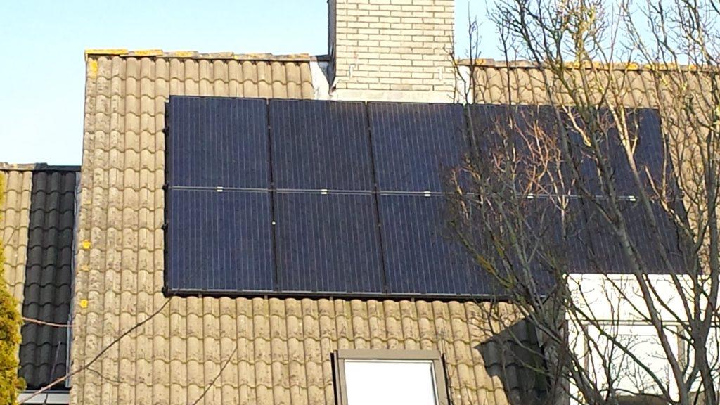 zonnepanelen plaatsen Santpoort